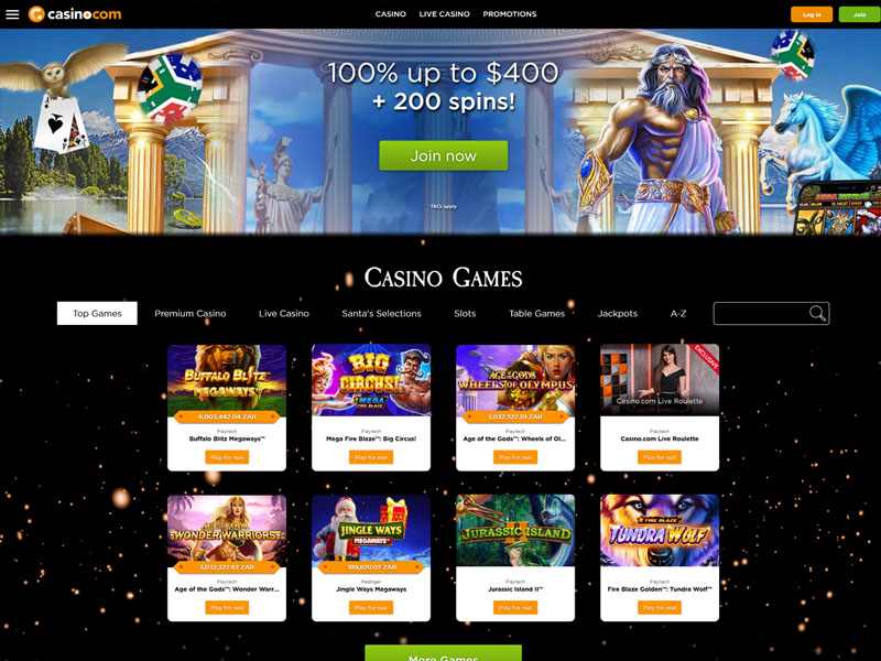 Playtech instant play casino