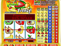 Its a veritable frenzy of fruit with this slot game