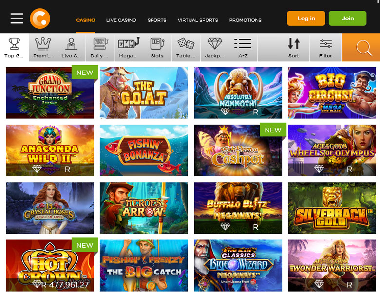 casino in mobile