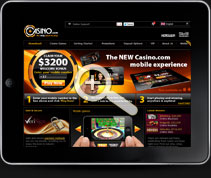 Casino.com for Mobile