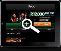Yebo Mobile Casino | Mobile Casino Promotions