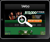 Yebo Mobile Casino | Home Page
