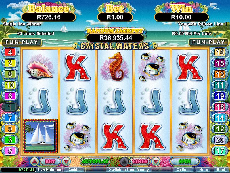 Free Slot Machine Crystal Waters