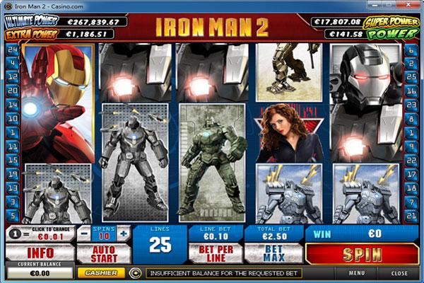 Iron man 2 slots casino royale synopsis spoiler