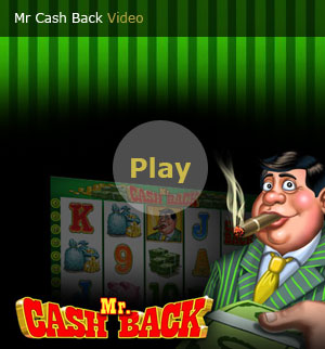 Mr Cash Back | Slot Game Video