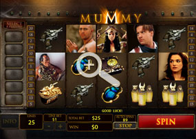 The Mummy - Playtech Online Slot Game