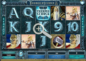 Thunderstruck II - Microgaming Online Slot with Bonus Games and 243 Paylines