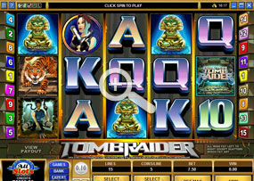 Tomb Raider - Microgaming Online Slot Game