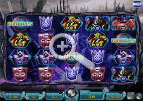 Transformers - Battle For Cybertron Video Slot
