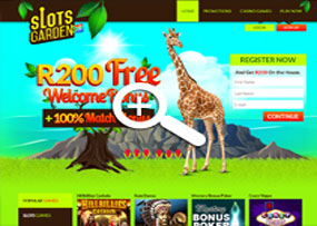 Slots Garden Casino | Home Page