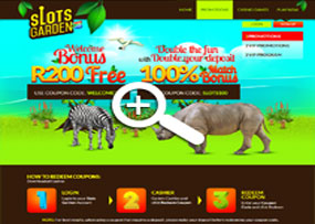 Slots Garden Casino | Promotions Page