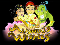 Rub the lantern and all your wishes could come true, play Aladdins Wishes Now