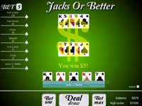 Play Jacks or Better Now