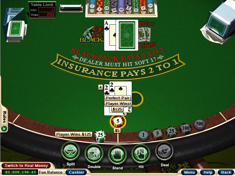 Play blackjack perfect pairs online slot scheduling algorithm
