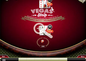 Blackjack - Vegas Strip
