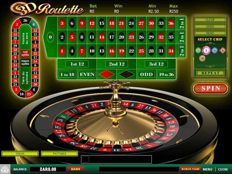 Play American Roulette Online at Casino.com South Africa