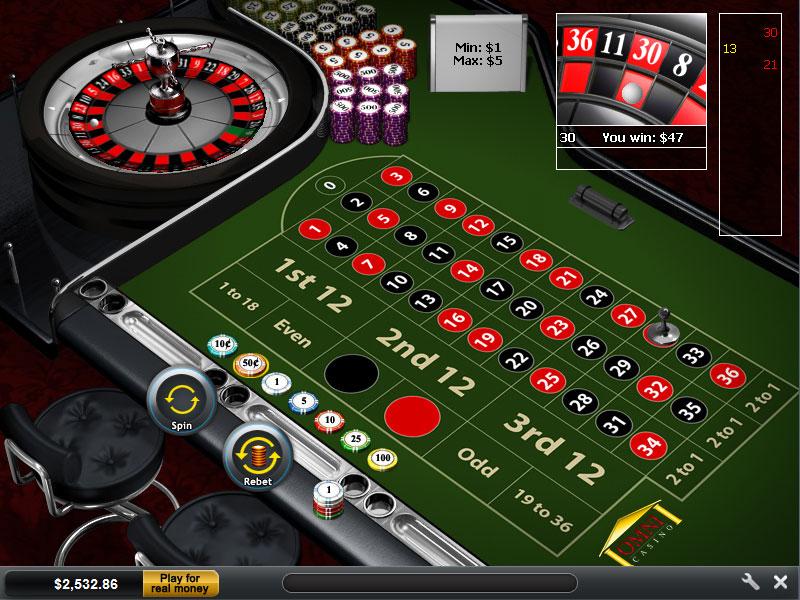 Us online roulette