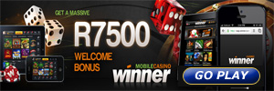 Mobile casino for South African players on iPad, iPhone or android at Winner Casino