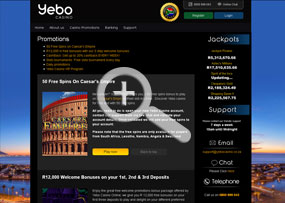 Yebo Casino | Promotions Page